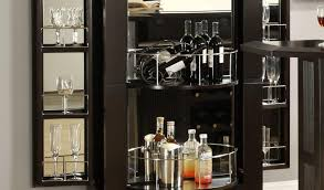 bar cabinets for home cabinet curio cabinet bernhardt bar into corner lockable home