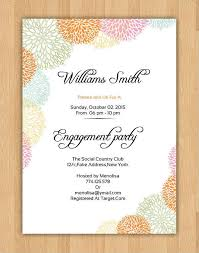engagement party invitation wording 40 printable engagement invitations templates free premium