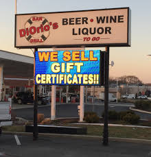 Liquor Signs by Led Message Board Signs