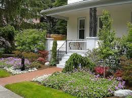 small front yard with ground cover and walkway small front yard