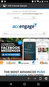 android 3 5 x android accengage