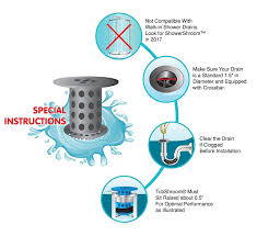 How Long Does It Take To Replace A Bathtub Amazon Com Tubshroom The Revolutionary Tub Drain Protector Hair
