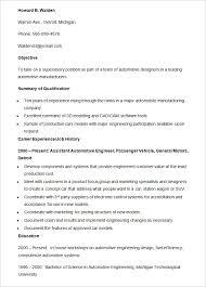 automotive resume template automobile resume template 22 free word