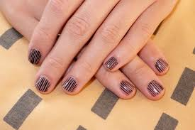 simple nail art line designs youtube simple line nail designs for