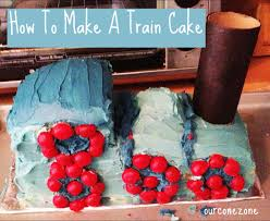 diy how to make a train cake for the novice our cone zone