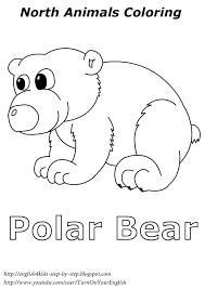polar fox clipart colouring page pencil and in color polar fox