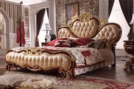 designer schlafzimmerm bel klassisches design holz bett für luxus hause schlafzimmermöbel set