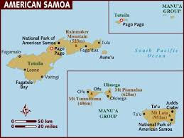 map of american map of american samoa