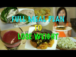 full meal plan to lose weight step by step recipes youtube
