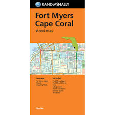 Sanibel Island Florida Map by Folded Maps Fort Myers Cape Coral