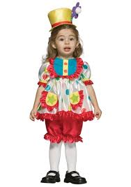 Ladies Clown Halloween Costumes 18 Images Toddler Clown Costume