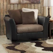 Reclining Chair And A Half Leather Chair And A Half Glider For A Nursery Room