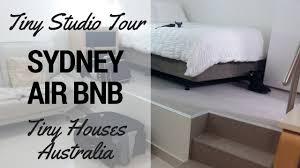tiny houses australia tiny house studio airbnb tour youtube