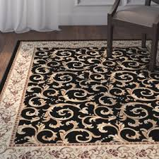 Black Area Rugs Astoria Grand Area Rugs Birch Lane