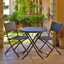 Patio Table And Chairs Set Two Person Patio Dining Sets You Ll Wayfair