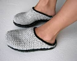 womens slipper boots nz crochet slipper boots with eco leather soles slippers