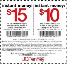 jcpenney printable coupons coupon codes blog