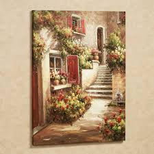 tuscan decor decorating accessories tuscan home decor tuscan tuscan flowers canvas art