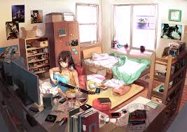 anime ecchi picture wallpapers room computer bedroom game