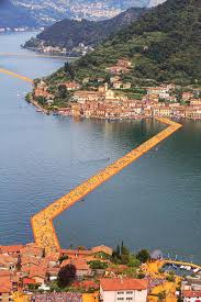 Floating Piers by The Floating Piers U0026 Damanhur U2013 The Temples Of Humankind