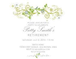 retirement announcement retirement invitation template marialonghi