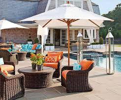 Decorating Decks And Patios Outdoor Furniture And Fabric Ideas