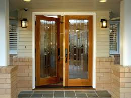 Exterior Door Window Inserts Front Doors If Glass Is Frosted Or Unable To See Through