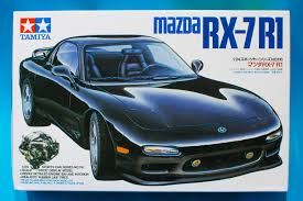 mazda sports car models tamiya 1 24 mazda rx7 r1 model kit review youtube