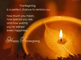 thanksgiving is a chance to remind you how much you how