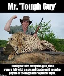Tough Guy Meme - i have a tiny gun imgflip