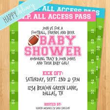 football baby shower invitations dancemomsinfo com