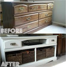 tv stand for dresser top dresser to tv stand diy step by step