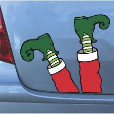 amazon com elf legs magnets hilarious christmas automobile