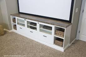 how to turn ikea bookshelves into custom built ins make it and