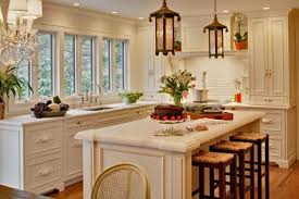 Kitchen Accents Ideas Orange Accents Kitchen Designs With White Cabinet And Wooden
