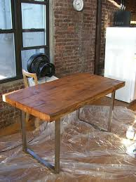 Diy Reclaimed Wood Desk Reclaimed Wood Table 5 Steps With Pictures