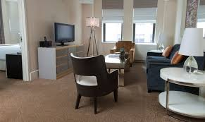 Bedromm by Luxury Hotel Suites In Nyc One Bedroom Suite The Benjamin