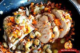 cuisiner le veau en cocotte recette du rôti de veau à la cocotte petits plats entre amis