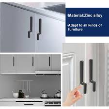 black modern kitchen cabinet pulls 5 9in black modern drawer pulls sale