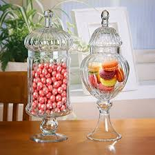 candy jars for candy buffet amazon com