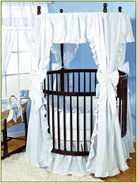 Baby Crib Round by Round Baby Cribs Home Design Ideas