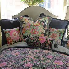 Black Floral Bedding Floral And Toile Bedding