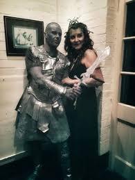 Halloween Costumes Medusa Perseus Medusa Couple Halloween Costume Couple Halloween