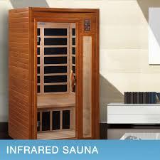 Keys Backyard Infrared Sauna by Dynamic Barcelona 1 To 2 Person Far Infrared Sauna