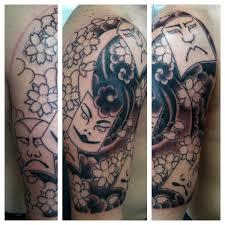 irish street tattoo japanese kabuki sleeve with cover up irish