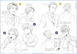 shonen hairstyles how to draw 250 manga anime male character mens hair styles book
