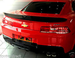 camaro rear spoiler 2014 2015 chevy camaro z 28 factory style spoiler rear wing