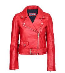 biker jacket vigga biker red meotine com