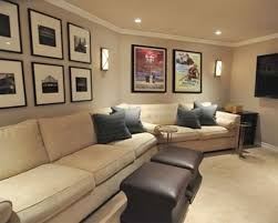 awesome decor with white walls and chairs for home theater decor