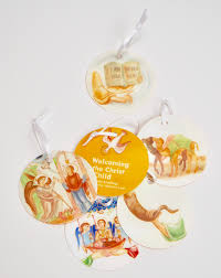 ornaments for the nativity fast raising saints
